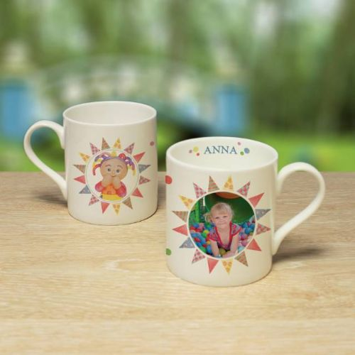 Personalised Upsy Daisy Photo Mug